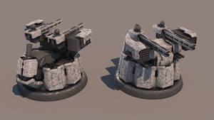 Shockwave Sentinels turret by Avitus12