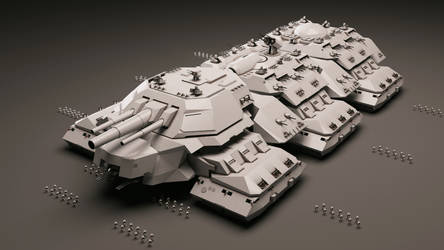 Behemoth Terrestrial Dreadnought MK-II by Avitus12