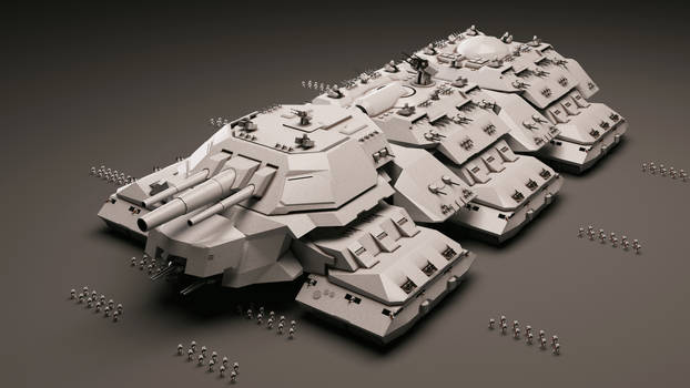 Behemoth Terrestrial Dreadnought MK-II