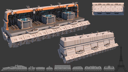 Tsviet military - War Train - CIP Transport
