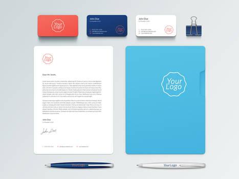 Branding / Identity Mock-Up Free PSD