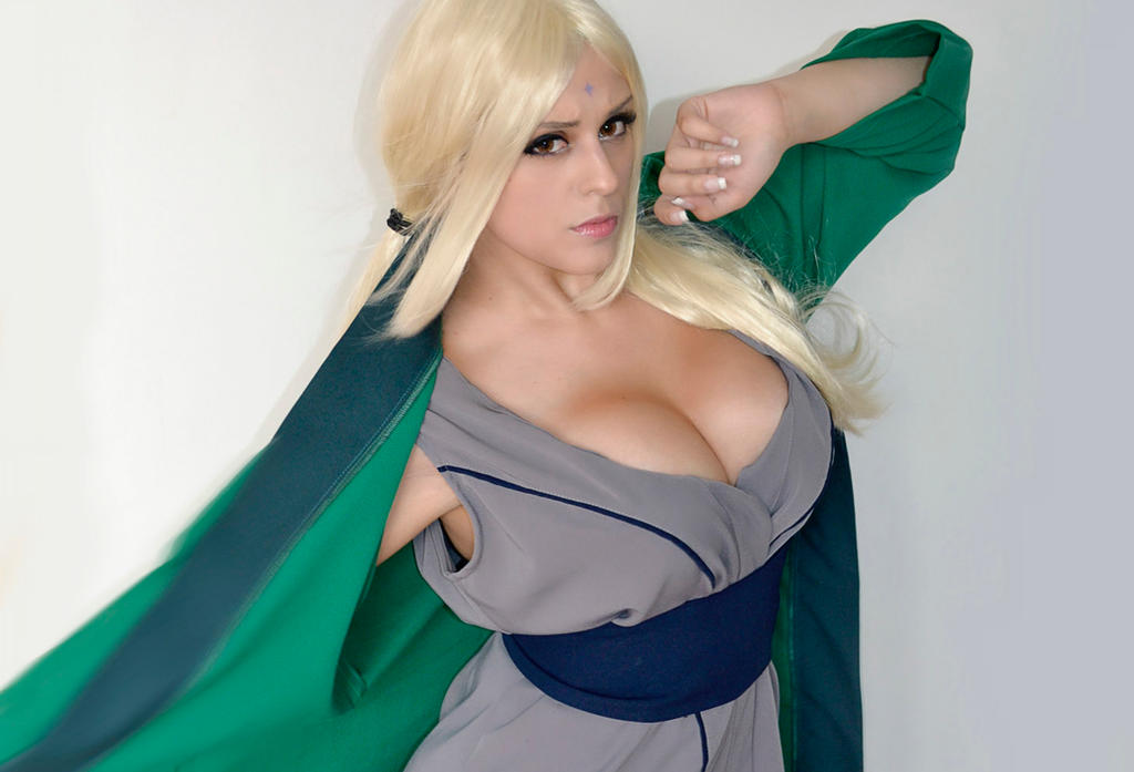 Nude lady tsunade cosplay