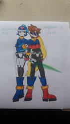 Silly Megaman ZX AU