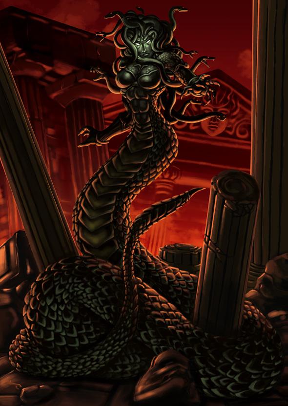 Medusa The Serpentine Sister