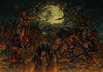 From Hell They Came by phrenan