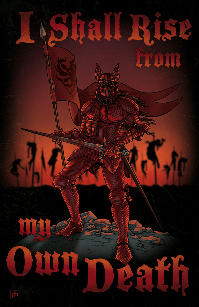 I Shall Rise from my Own Death by phrenan