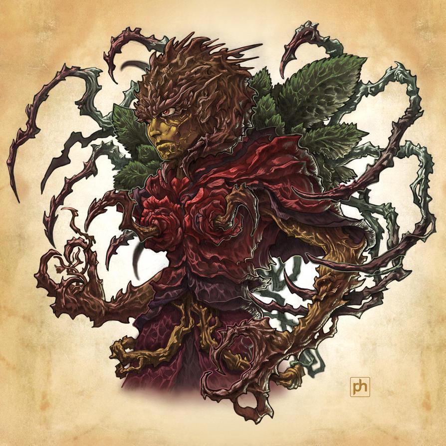 Rose Demon by phrenan