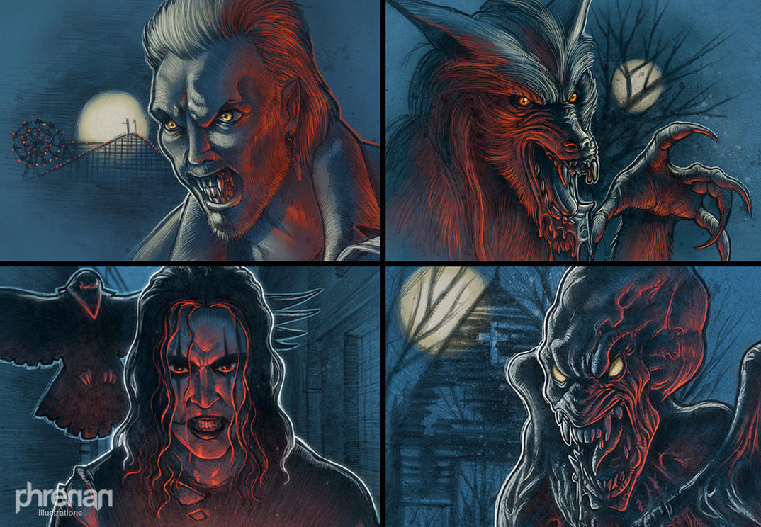 Halloween supporters by phrenan