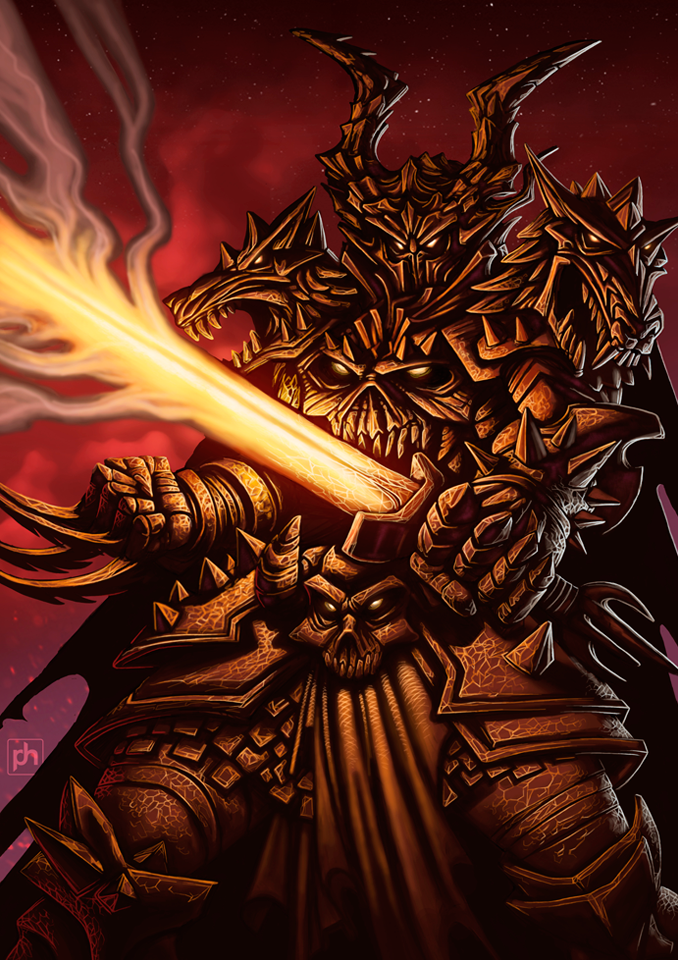 Hell Knight (final) by phrenan