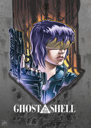 Ghost in the Shell by phrenan