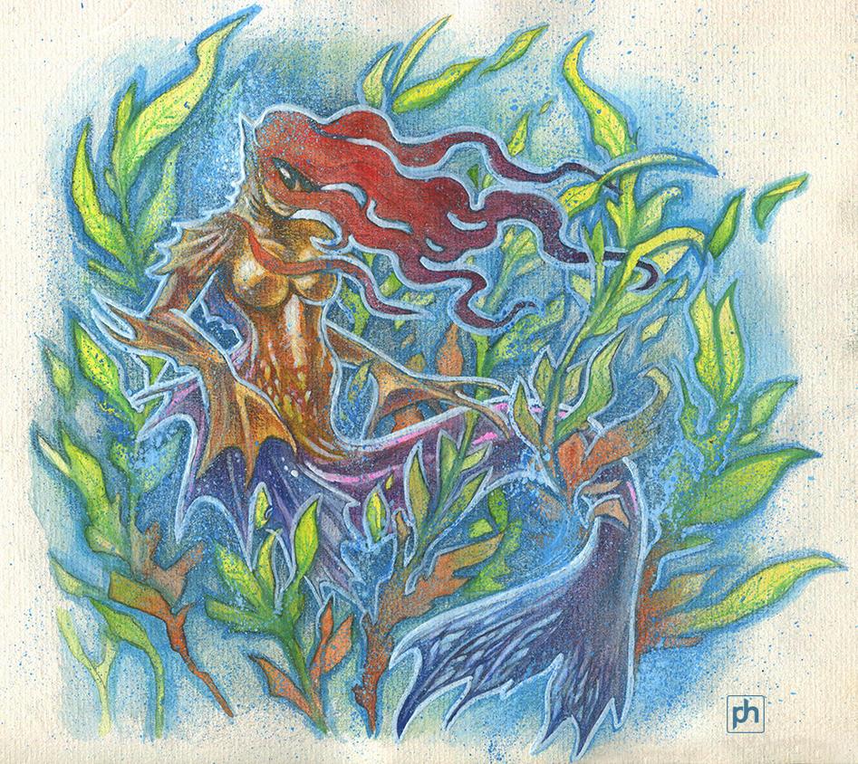 Mermaid by phrenan