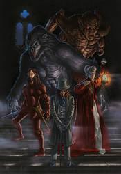 Dracula by phrenan
