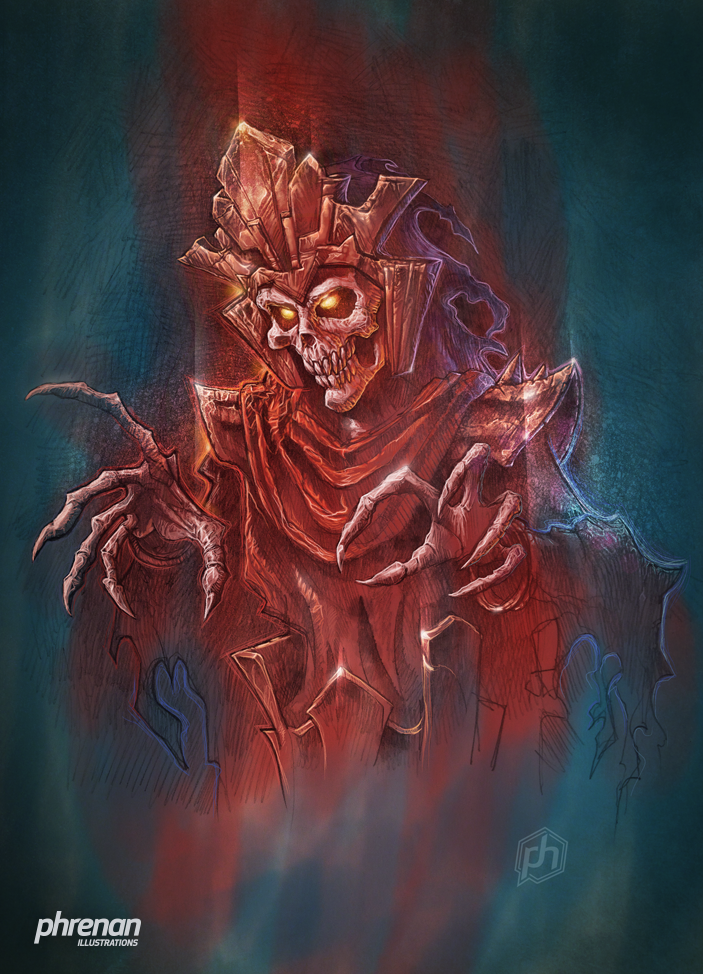 Necromancer by phrenan
