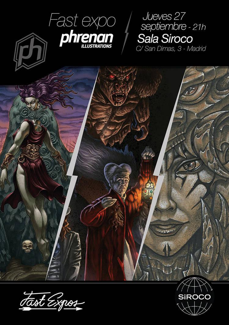 Fast Expo Phrenan Illustrations by phrenan