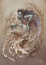 Ghost Maiden by phrenan