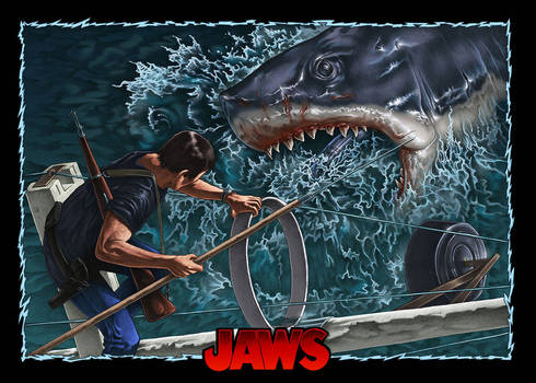 Jaws poster commission