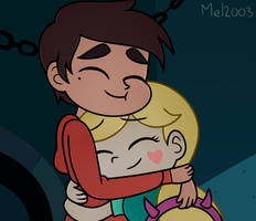 Heartwarming hug by mel2003