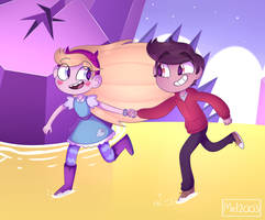Starco in the Realm of Magic