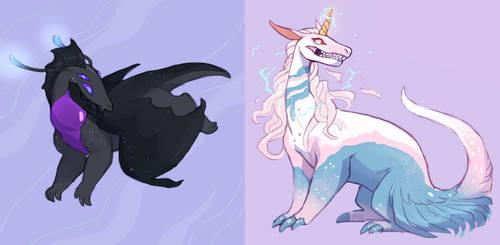 one dragon two dragon