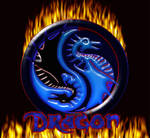 ying and yang Dragons