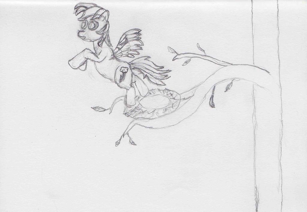 Rainbow Dash Flies The Nest ATG Day 12 by Starlight-Flux