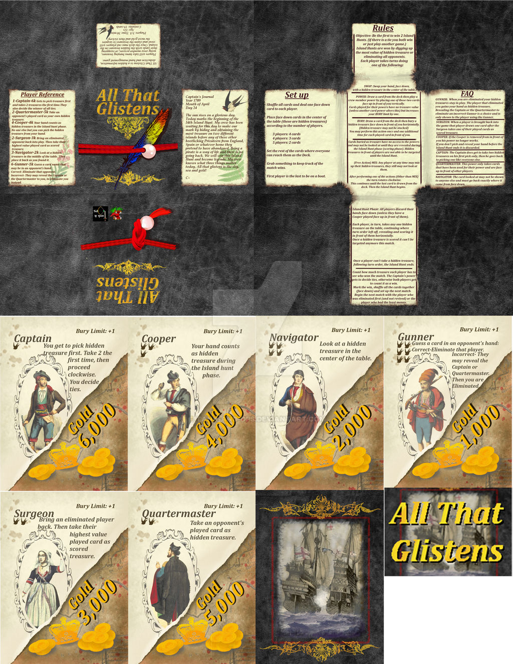 All that Glistens image sheet