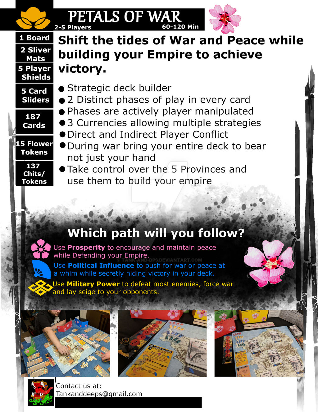 Petals of War Sell Sheet