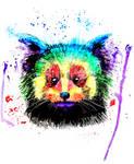 Rainbow Red Panda