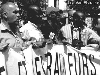 Manifestation in Paris by Skratsh