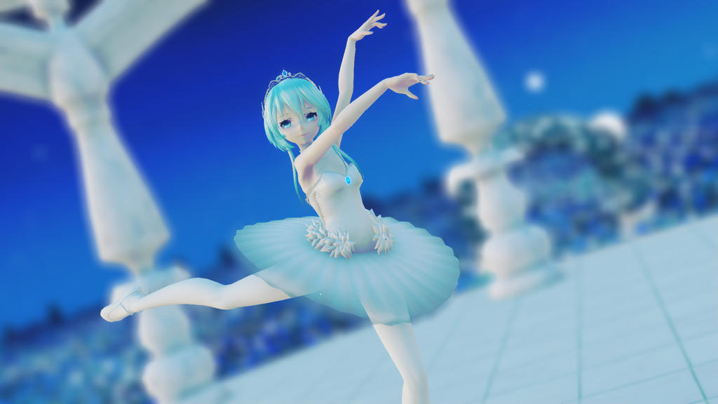 [MMD]Ballet by LunaAD