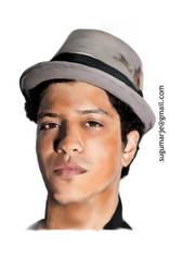 Bruno Mars by sugumarje