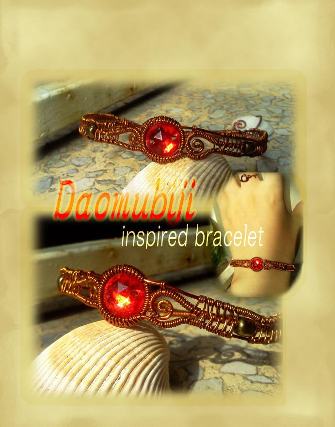 Daomubiji inspired braccelet by CovenEye