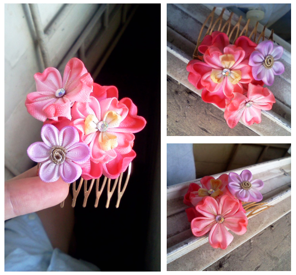 Mini Sakura comb again by CovenEye