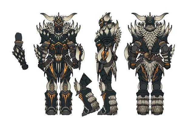 Nergigante Male Armor By Biloutedu91 On Deviantart