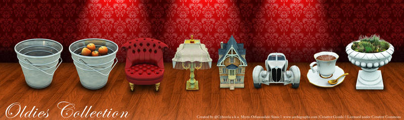Archigraphs Oldies Collection by Cyberella74