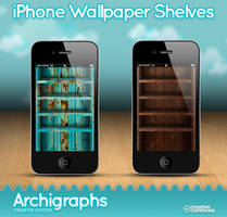 iPhone Wallpapers shelves