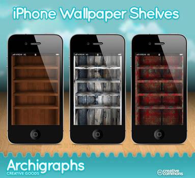iPhone Wallpaper shelves -3
