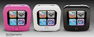 Archigraphs Tiny iPhones