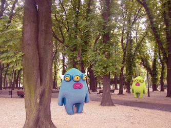 Creepy park by Cyberella74