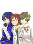E.S Haruka, Rin, Makoto