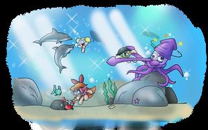 RQ: Underwater Paradise by ITBluebeadTI