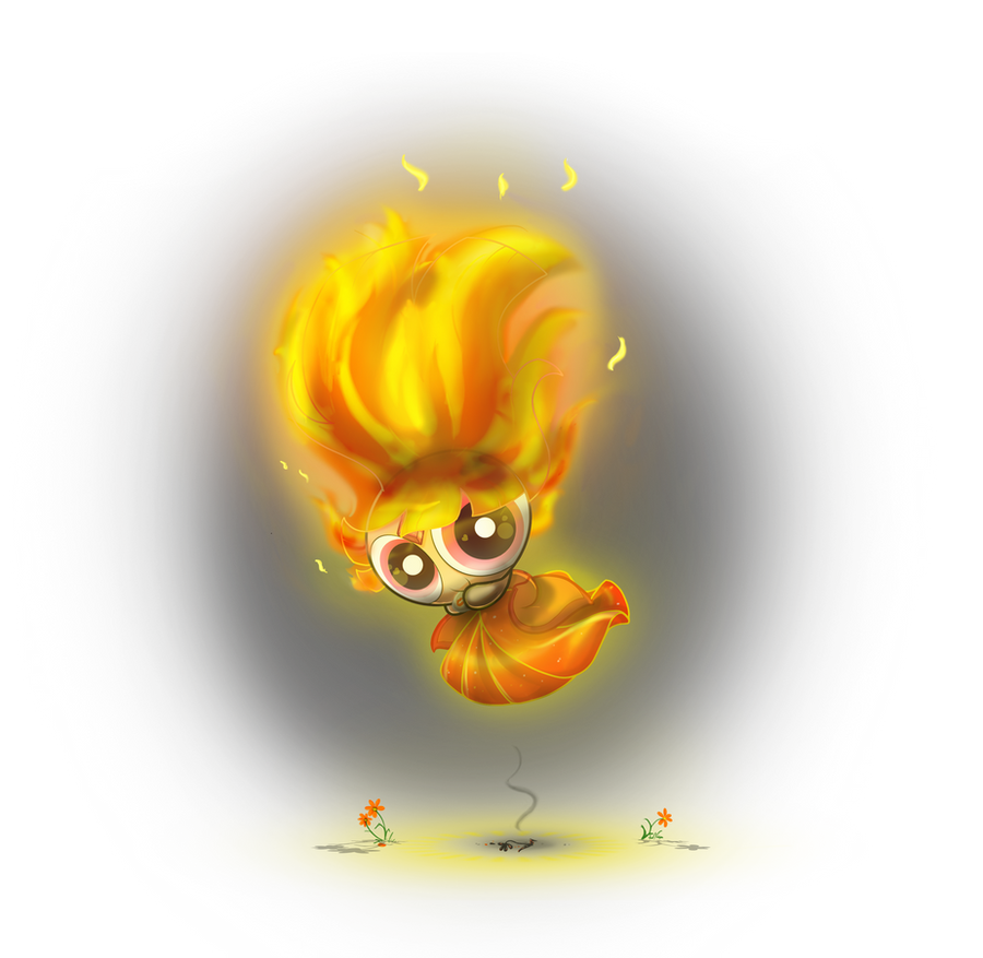 .:CE:. Blossom as Flame Princess by ITBluebeadTI