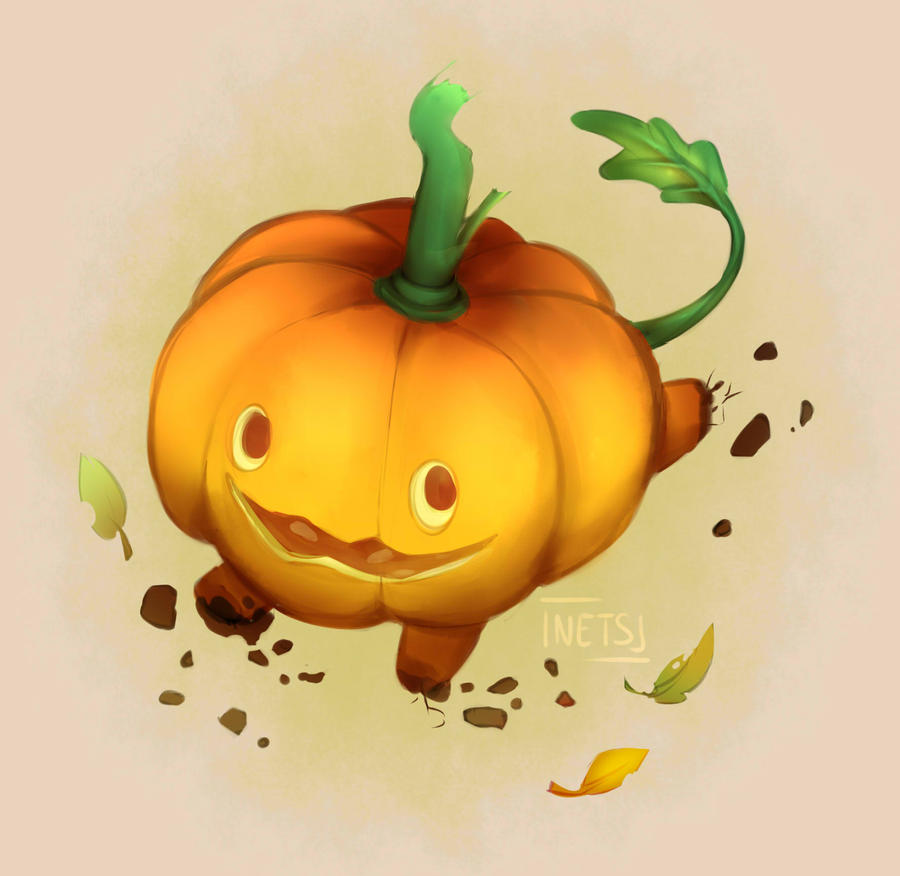 I wish to master the art of Digital Painting. Here's a Pumpkin from Steven Universe : D