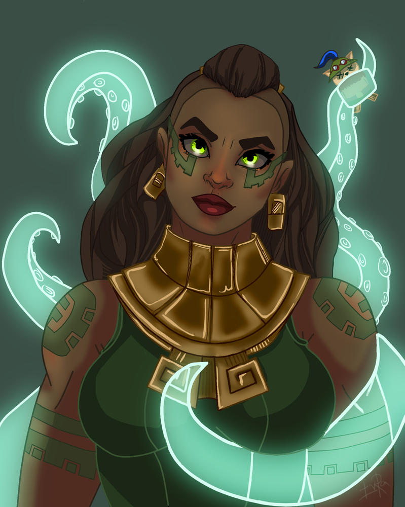 League of Legends Illaoi by sharrm
