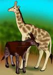 Chinese Giraffes