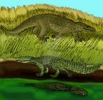 Pleistocene Mekosuchines