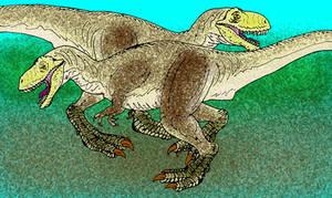 Tyrannosaurus rex by avancna