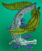 Sarcosuchus imperator by avancna