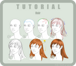 Tutorial Photoshop n6 HAIR by HellBibi
