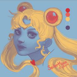 Sailor Moon by ElyBibi